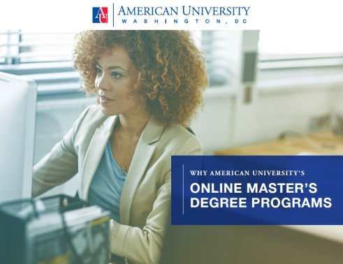 Online Master's Degree Programs Brochure